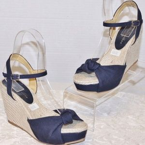 New Bettye Muller Anthropologie Wedge Sandals